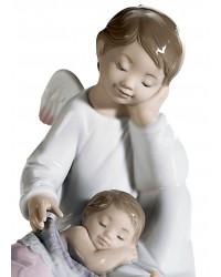 """Статуэтка """"Мой ангел хранитель"""" розовый"""
