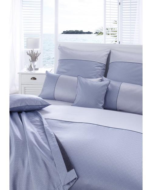 Комплект постельного белья Calibri цвет морской